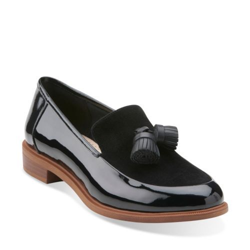 Taylor Spring Black Patent Combi womens-view-all