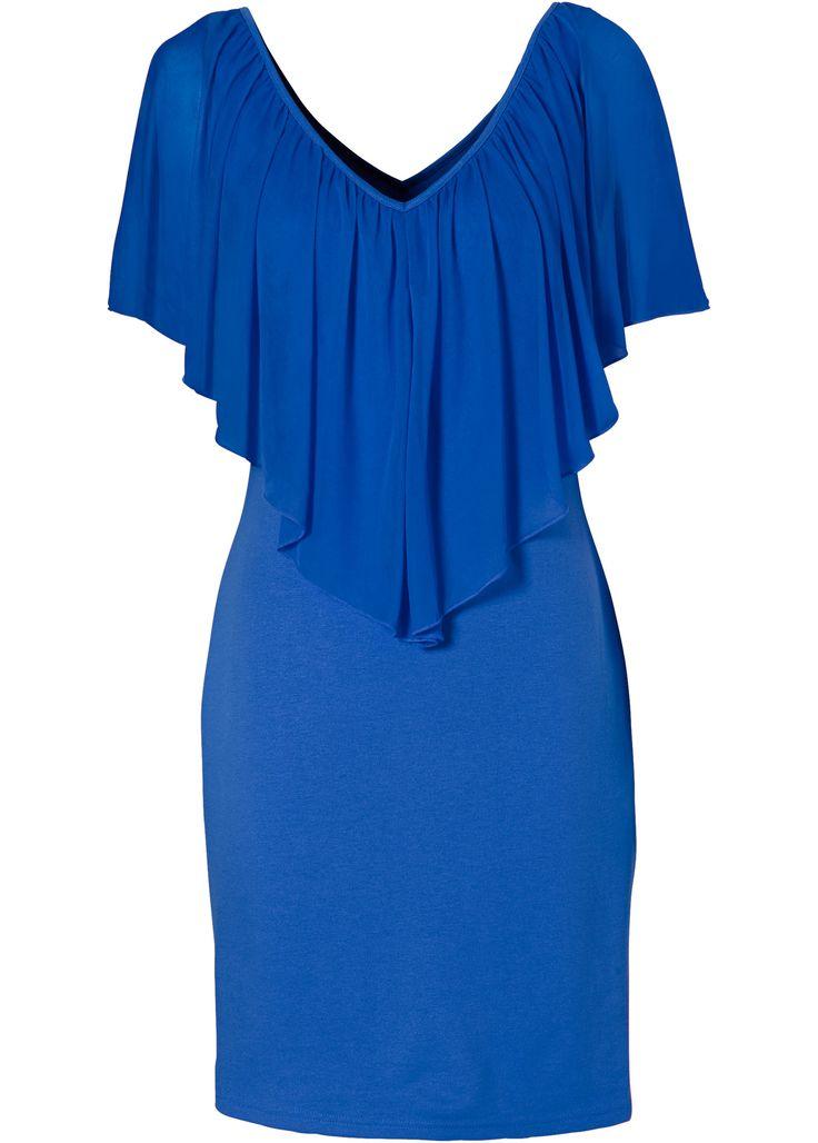 Kleid azurblau - BODYFLIRT boutique jetzt online bei bonprix.at ab ? 39,99 bestellen. Romantisch verspielt! Modell mit tiefem Ausschnitt und großzügigen ...