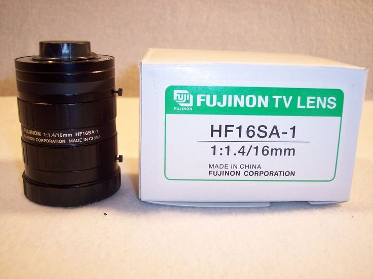 Fujinon TV Lens  HF16SA-1 TV LENS 1:1 4/16mm High Resolution 5 Mega Pixel Camera #Fujinon