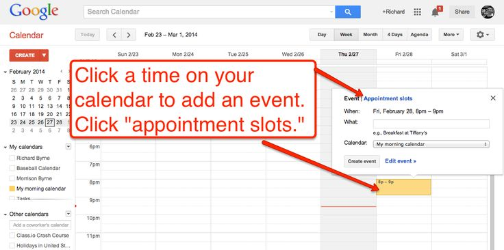 Free Technology for Teachers: How to Create Appointment Slots in Google Apps Calendars