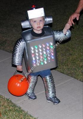 10 best halloween costumes for jack images on pinterest costume coolest homemade robot kids halloween costume solutioingenieria Choice Image