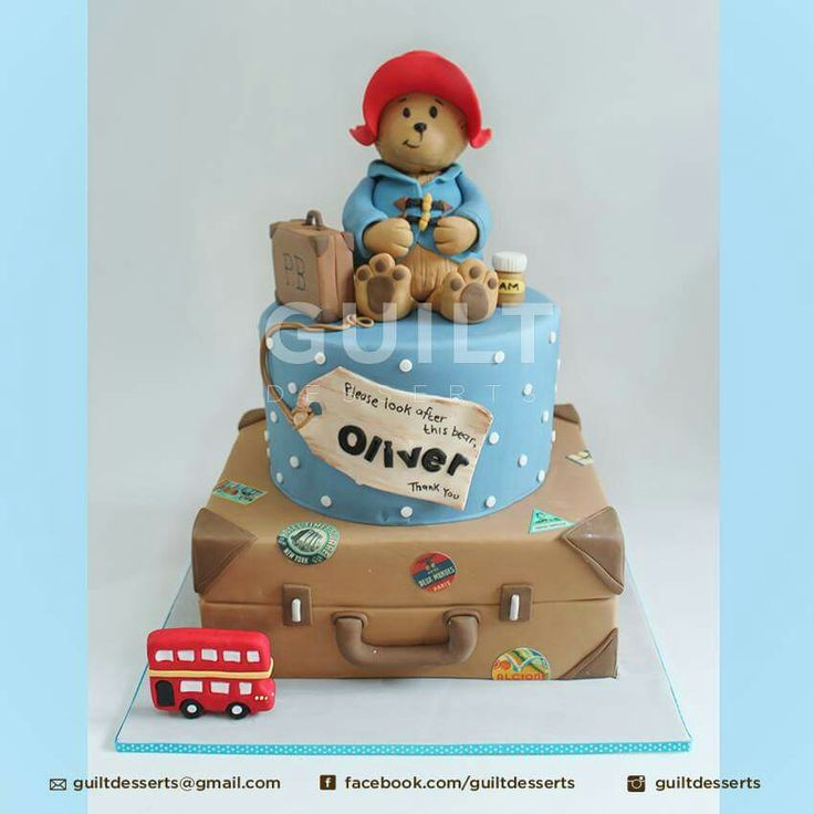 Images Of Paddington Bear Cakes