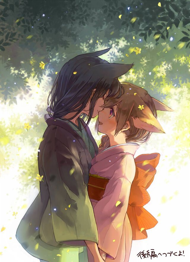 (Open rp?) I couldn't believe it..to find my love back in the spirit realm where I live, I couldn't be happier