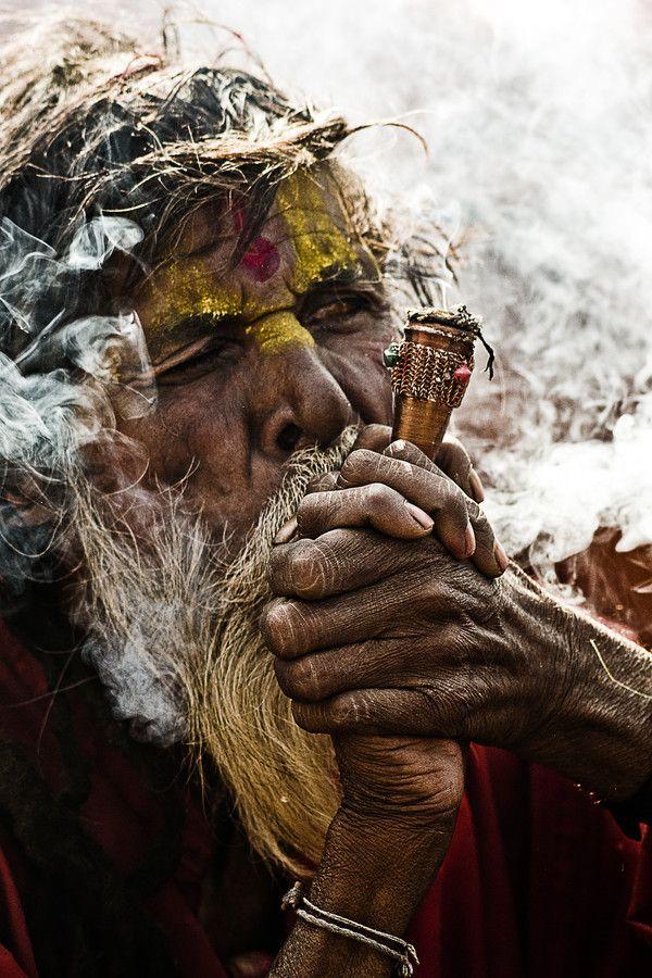 Smoking Chillum by Vineet Pal on 500px