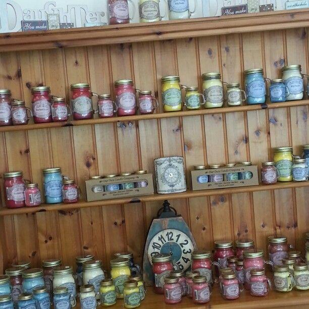 #ourowncandleco #masonjar #candles #100hour #teacupsandtrinkets www.teacupsandtrinkets.co.uk