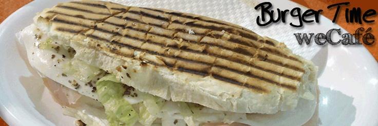 Burger Time / Panino primavera (prosciutto, mozzarella, pomodoro, lattuga)