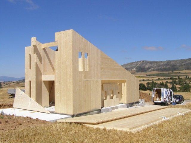 Las 25 mejores ideas sobre cubierta de madera en pinterest - Forjados de madera laminada ...