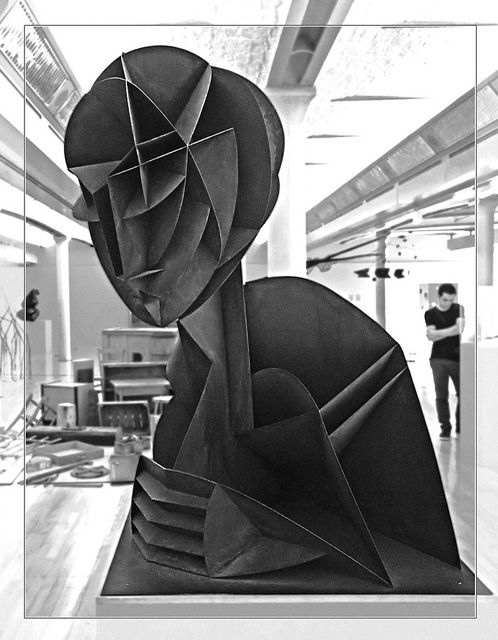 Naum Gabo Head no 2 1916 by MikeJDavis, via Flickr.