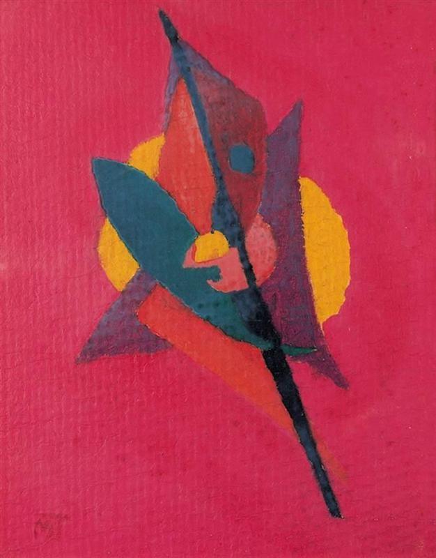 Composition Artist: Janos Mattis-Teutsch Completion Date: 1922 Style: Abstract Art Genre: abstract