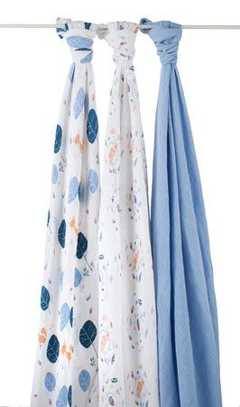 aden + anais Organic Muslin Classic Swaddles – Into The Woods | $79.95 http://www.littlepeepsclothing.com.au/aden-anais-organic-muslin-classic-swaddles-into-the-woods/