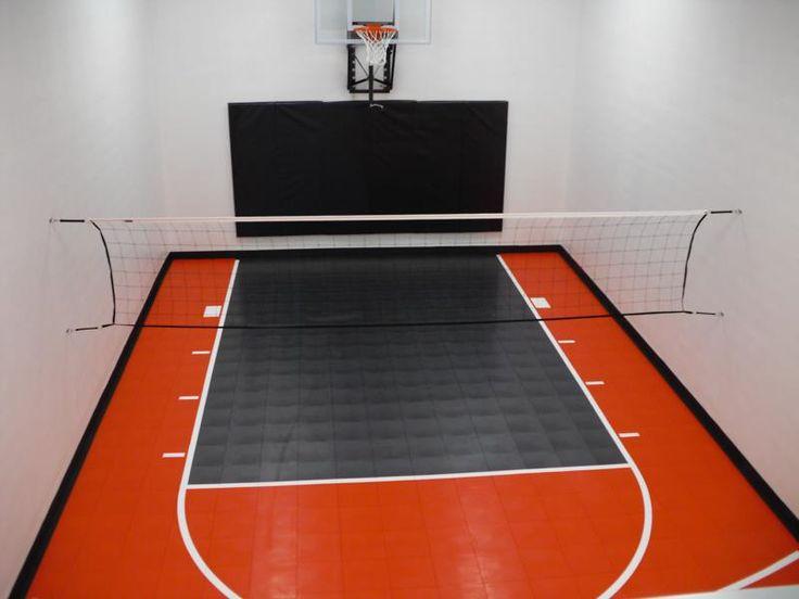 26 best basement gym images on pinterest basement gym for Basement sport court