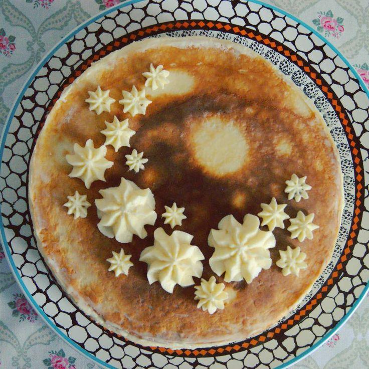 В выходные делала блинный торт по рецепту Алены Коготковой #готовим_с_alenakogotkova #cake #crepe #delicious #food #dessert #cream #блины #торт #вкусно #десерт #на_сладкое #кчаю #еда #праздник #alenakogotkovacom #блинныйторт