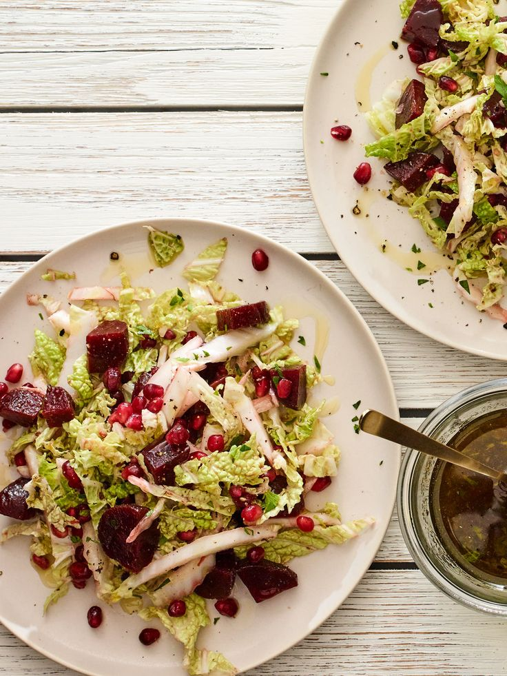A beautiful 3 ingredient beet salad, easy and quick to make.