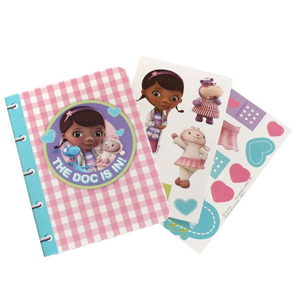 Doc McStuffins Activity Book - nyea's Party Store