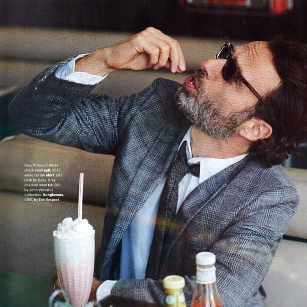 Andrew Lincoln in UK Esquire, October edition #thewalkingdead