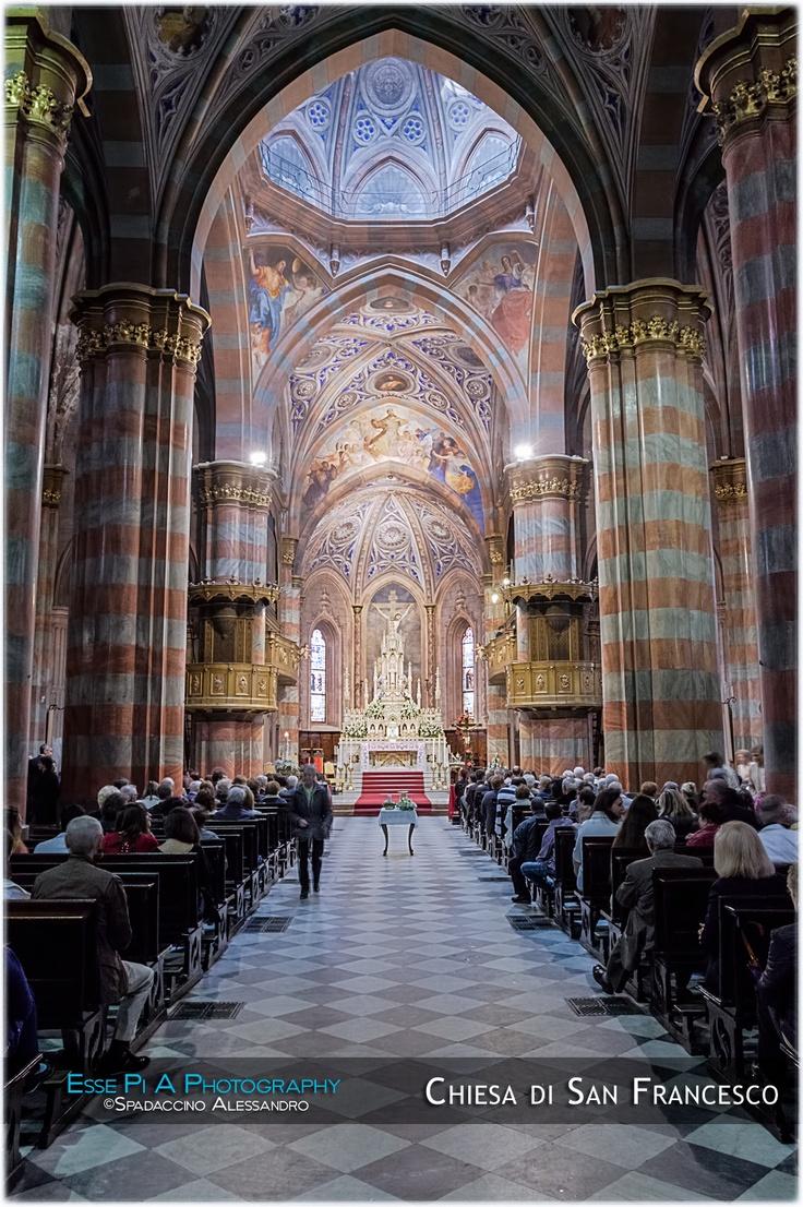 Navata della chiesa di San Francesco a Vigevano
