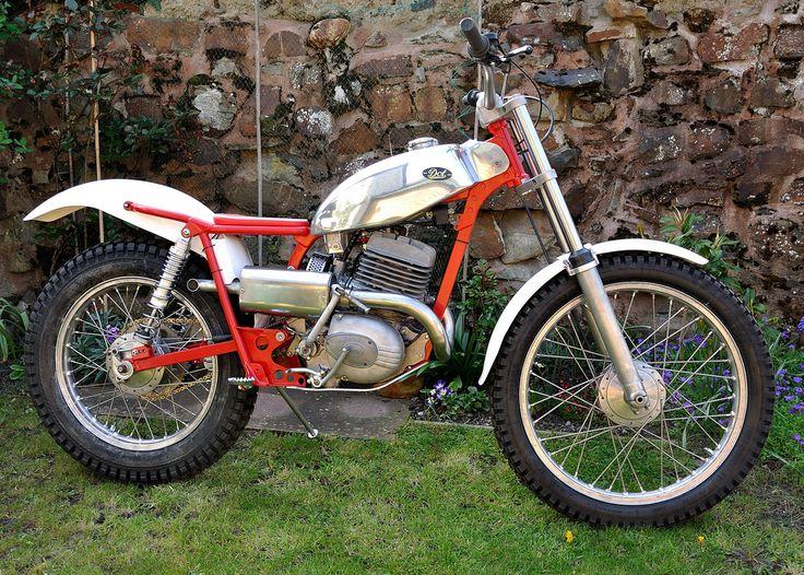 Villier 1963 DOT250 Vintage motocross, Trial bike, Bike