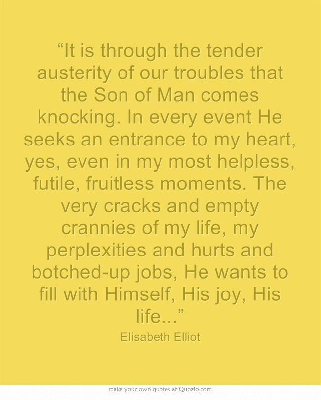 Elisabeth Elliot Quotes On Love: 619 Best Images About Desiring God On Pinterest