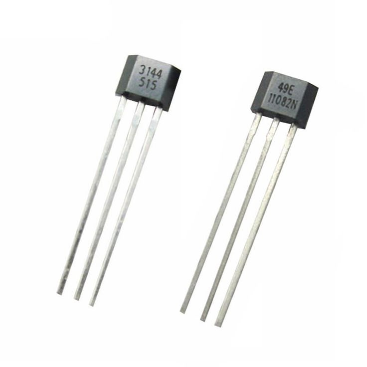 Hall Effect Sensor. Useful for precision motor speeds and position detection. Synchronize 2 or more micro linear actuators with Hall Effect Sensors. Choose either 3144 model or 49E model. SALE PRICE: $3.75