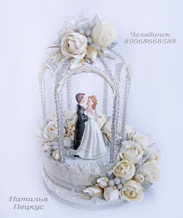 """Gallery.ru / Фото #60 - Букеты из конфет в Челябинске """"Свадьба и любовь"""" - natapetskus"""