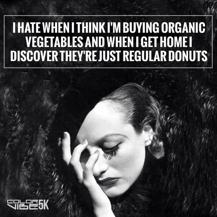 Organic vegetables - vintage retro funny quotes