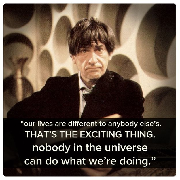 Second Doctor (Patrick Troughton) | Community Post: 11 Best Quotes Of The First 11 Doctors
