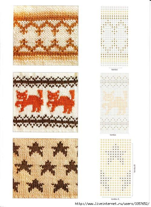 127 best Fair Isle Chart images on Pinterest | Knitting stitches ...