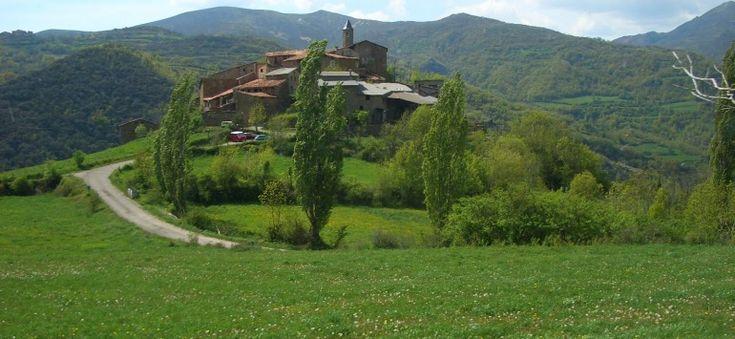 Beranui, un dels pobles de la Vall Fosca, al Pirineu català (Catalunya - Catalonia)