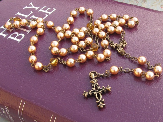 rosary: Chapelet, Rose Pearls