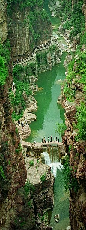 Amazing Yuntaishan Global Geopark, Henan - China