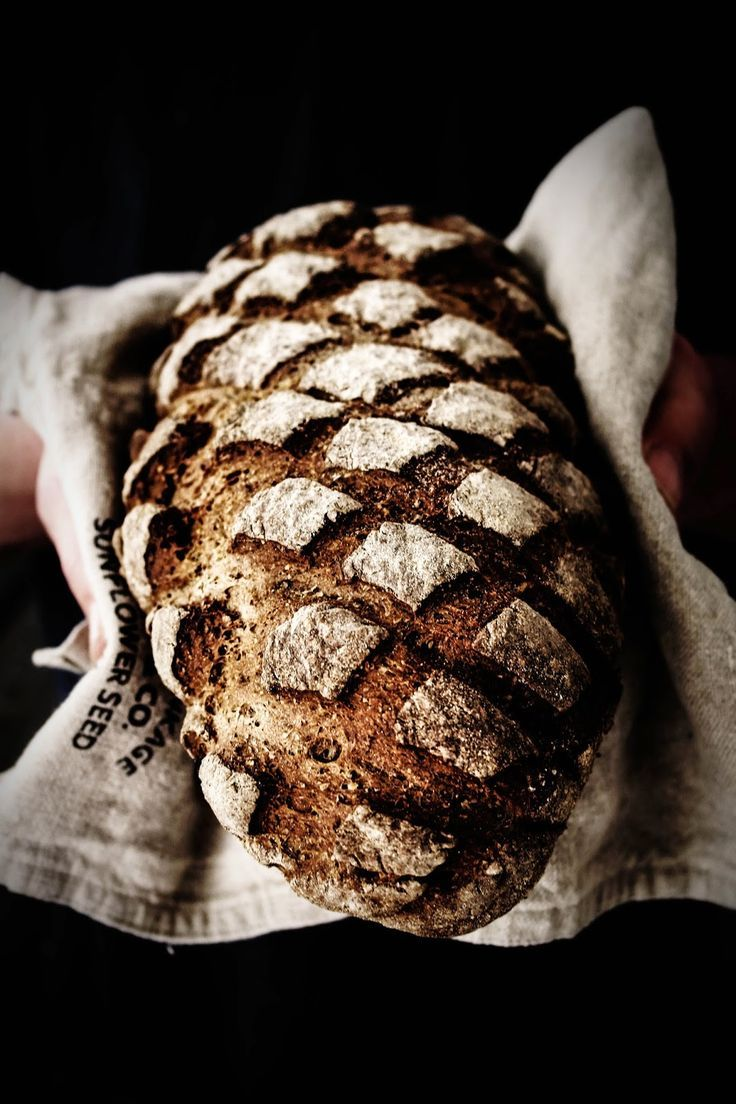 rustic rye loaf