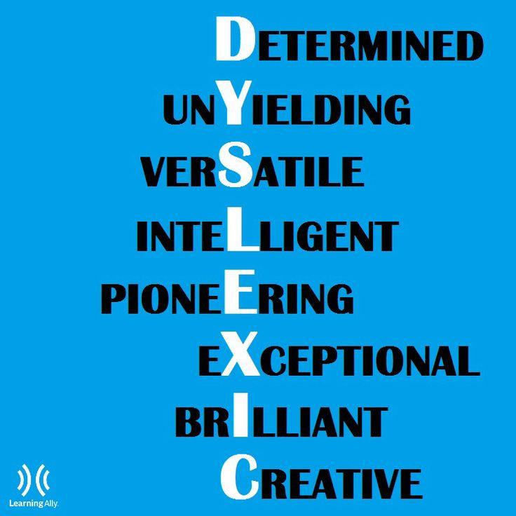 Understanding Dyslexia For Parents Kidshealth >> Remember your strengths!! | Engish grammar ESL | Pinterest ...
