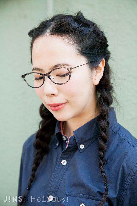 Youmiさん|掛け心地バツグンで軽くてしなやかな素材!|JINS SNAP