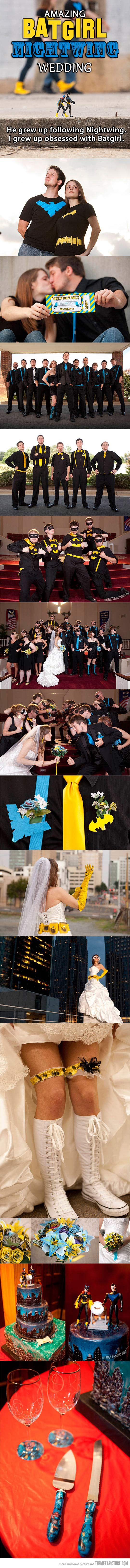 When geeks fall in love and get married. :)