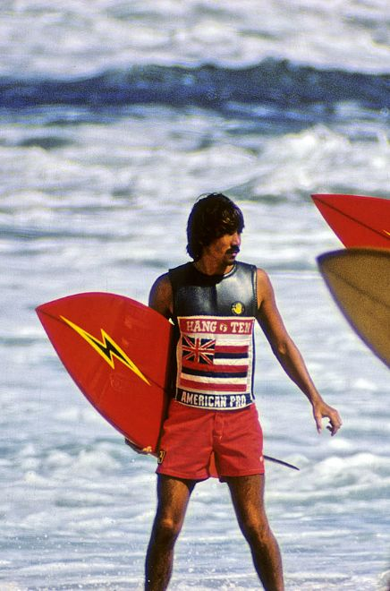 Hang Ten! Jerry Lopez By the way We have a retro Lightening Bolt Board!