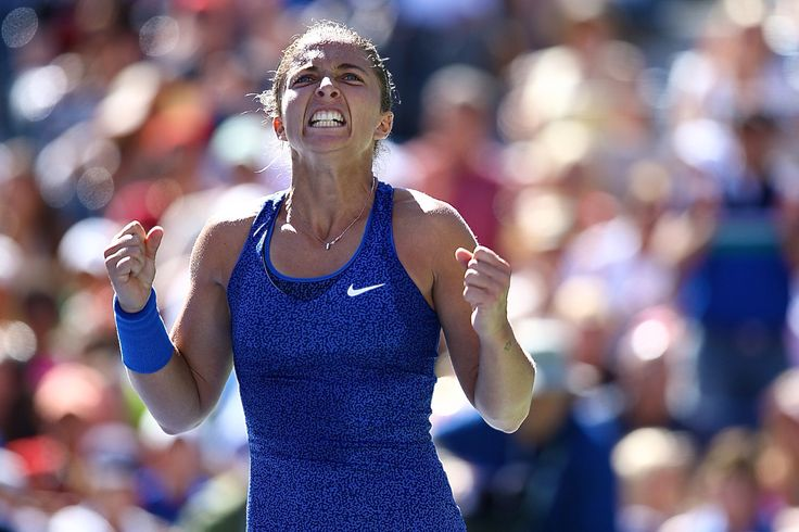 Sara Errani of Italy defeats Venus Williams of USA in Day 5 match play of the 2014 US OPEN