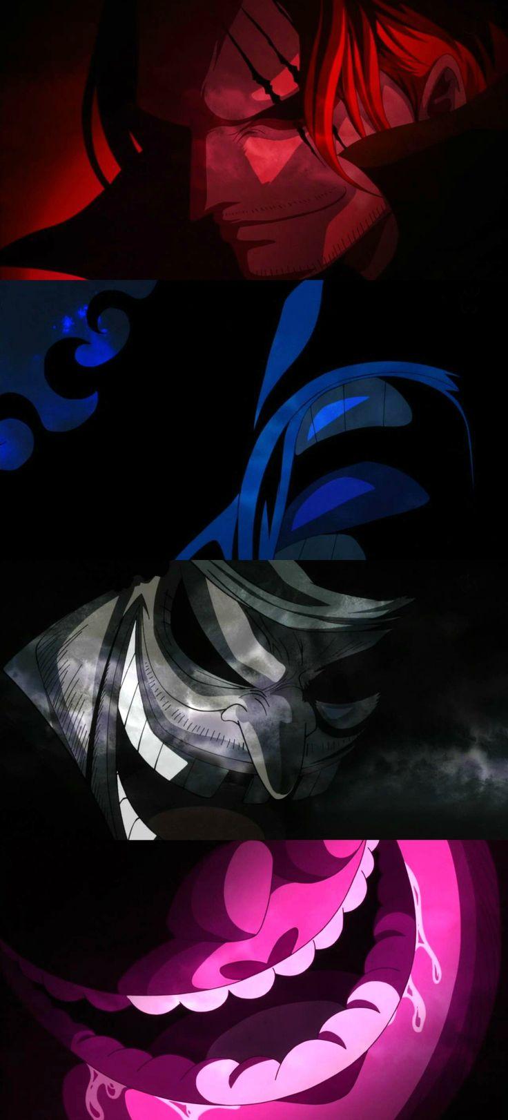 One Piece Anime | Yonko | Four Emperors | Shanks, Kaido, Blackbeard, Big Mom