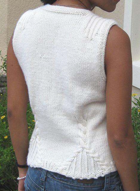 Soleto Vest on Ravelry by  Nitza Coto  (printed)
