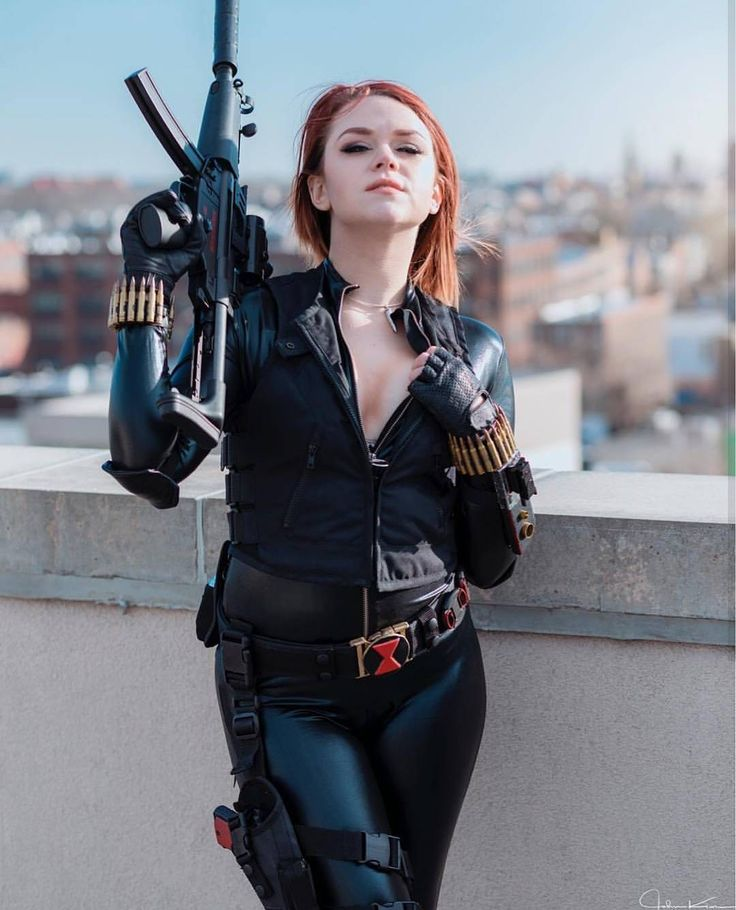 Congratulations to @mandaglorian for today's main feature with their cool and sexy Black Widow cosplay photo  The always impressive cosplay talent of @mandaglorian back again and sharing her wonderfully awesome Black Widow geared up and ready to throw some lead looking amazing in front of the lens of the equally talented and superb @candidjohnkim who did a really excellent job with this shot super crisp clear and professional  . . PHOTO OF THE DAY . . To submit your photos for features…