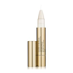 Double Wear Brush-On Glow BB from Estee Lauder in colour 2W (light medium) $38.00 AUD. I don't normally wear high end make up but I love this as an under eye concealer. Can't beat it.