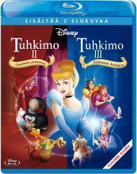 Tuhkimo 2 + 3 (Blu-ray)