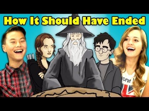 How it should of ended hunger games - YouTube