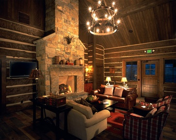 Denver Home Log Cabin Decorating Design Ideas, Pictures, Remodel, and Decor - page 34