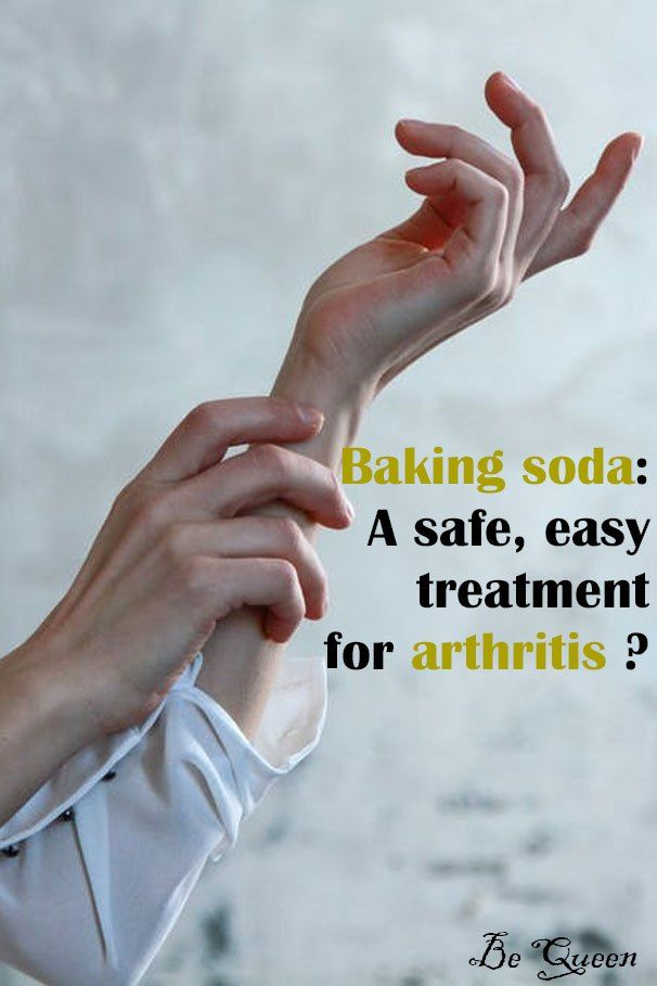 Baking soda: A safe, easy treatment for arthritis? - Be