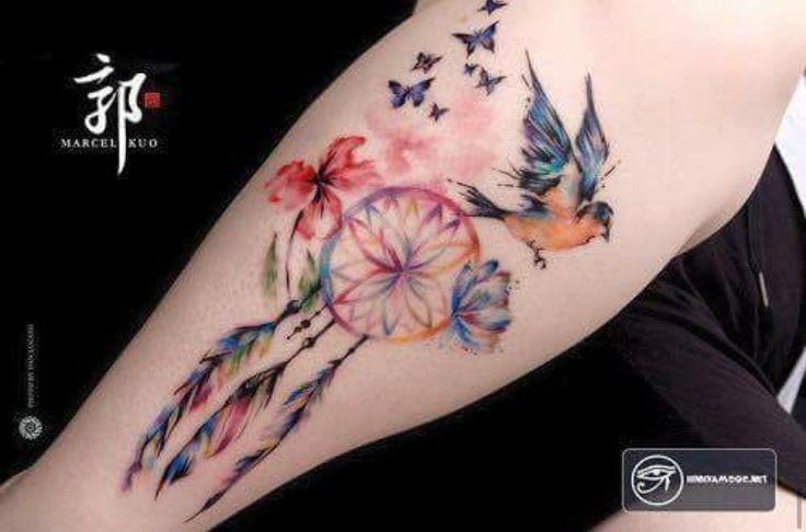 Colibríe tatto