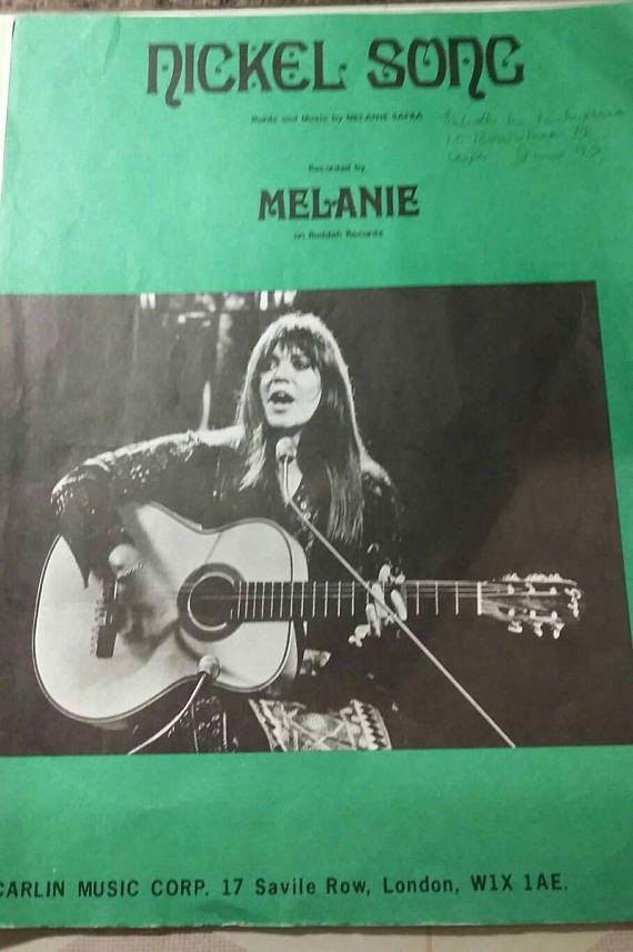 Check out this item in my Etsy shop https://www.etsy.com/uk/listing/584002024/nickel-song-by-melanie-safka-1970