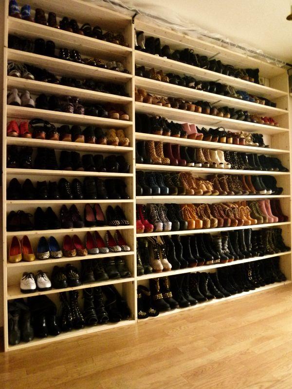 Mens Shoe Closet 23 best shoe storage images on pinterest | dresser, closet space