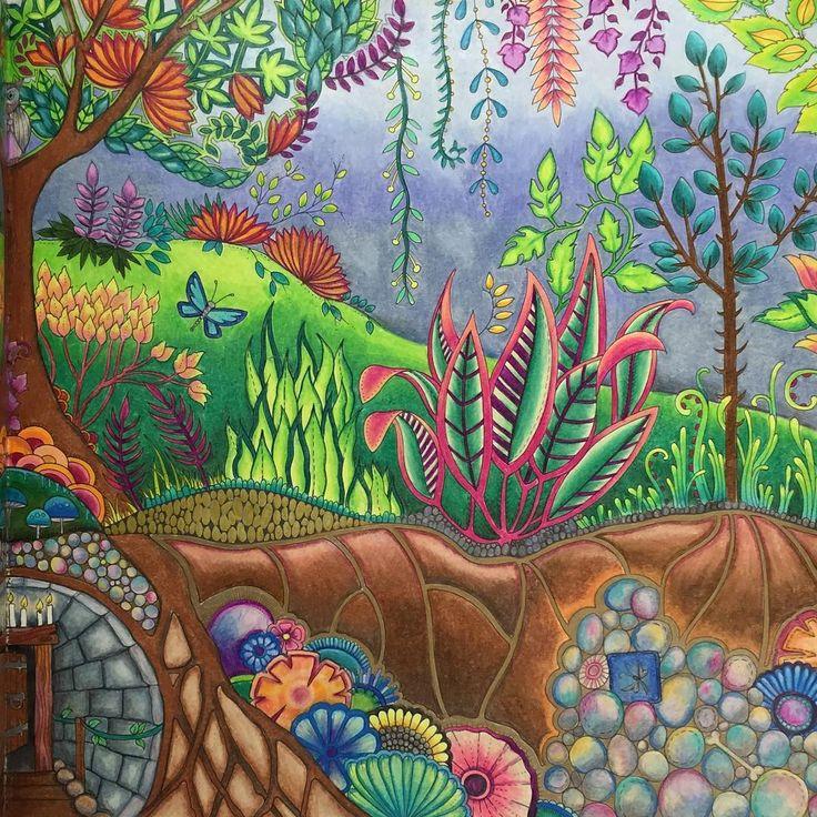 Johanna Basfords The Enchanted Forest