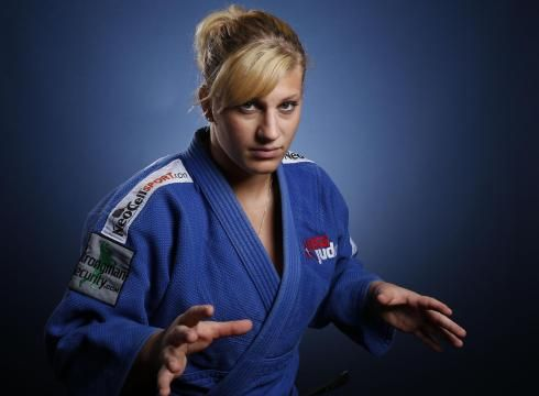 Kayla Harrison Chases U.S. Judo History In London, Kayla Harrison can become the first American gold medalist in Olympic judo history.    What a remarkable capstone it would be for a woman who nearly quit the sport after she was sexually abused by her first judo coach.    Harrison went public with her painful past in a 2011 USA Today story and hopes to inspire others who've undergone similar torment.