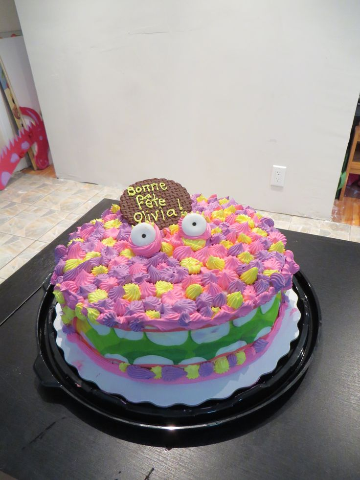 Monster Cake Idea (Compliments of Dairy Queen)